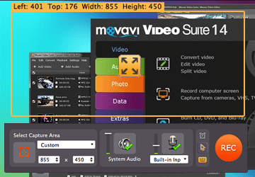 Step 2 - Start using software for making video tutorials