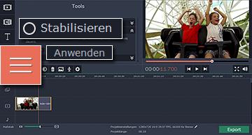 Programm für Videos stabilizieren