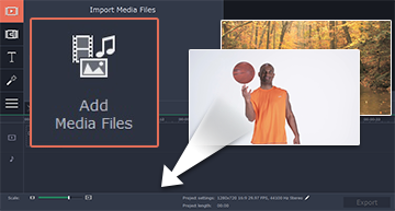 Step 2.1. Launch Movavi Video Editor.
