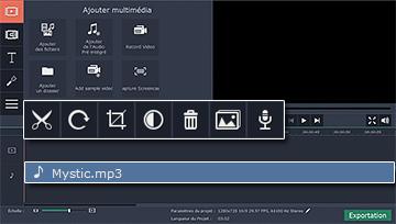 Logiciel d 39 enregistrement audio movavi - Couper une musique mp3 en ligne ...
