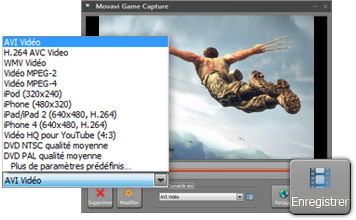 Enregistrer la Vidéo d'Ecran de Jeu