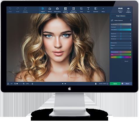 Movavi Bildbearbeitungsprogramm für Mac