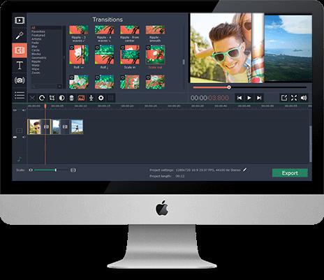 Logiciel De Montage Vid O Pour Mac Movavi Video Editor