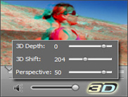 Watch 2D video in 3D format with Movavi 3d media player