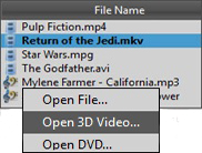 Play back any video and audio formats with Movavi media player