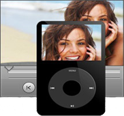 Play any media files from your device with our media player