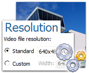 Get the best results with flexible settings of Movavi SWF Converter