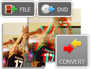 Convert any video file from 2d to 3d with our software