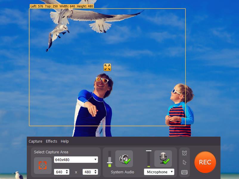 Capture screen and take screenshots