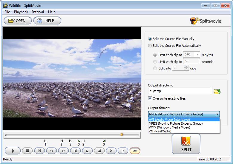SplitMovie 2.1.23