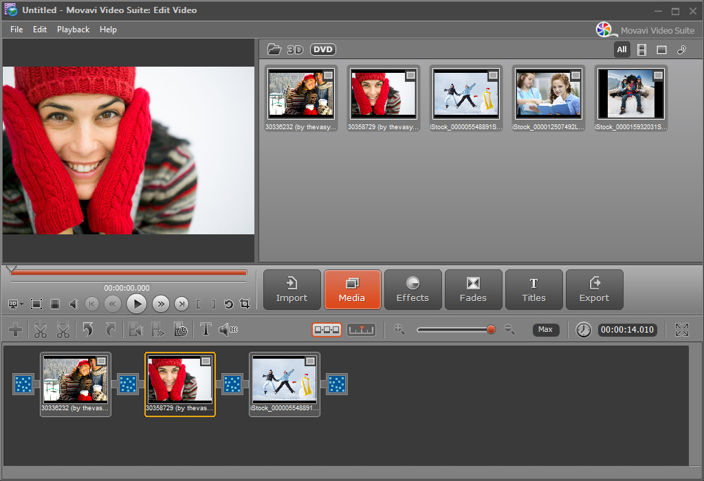 Movavi Video Suite Screenshot