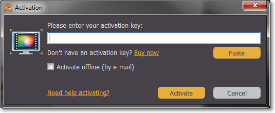 activation key for movavi screen capture studio