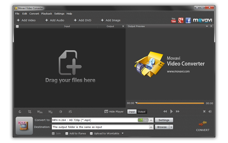 Click to view Movavi Video Converter screenshots