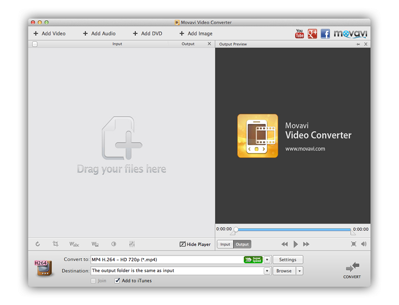 Movavi Video Converter for Mac 5 screenshot
