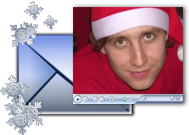 E-mail your video holiday greetings