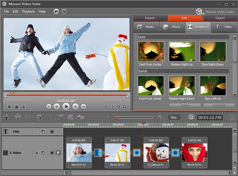 Movavi Video Suite Personal screenshot