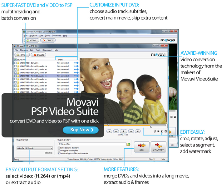 Movavi PSP Video Suite
