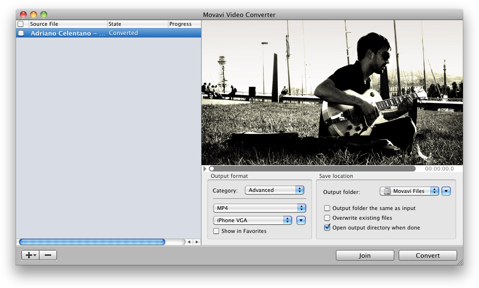 Movavi Video Converter for Mac 2.7