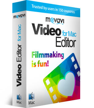 Movavi Video Editor pour Mac