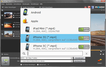 DVD zu IPhone Converter