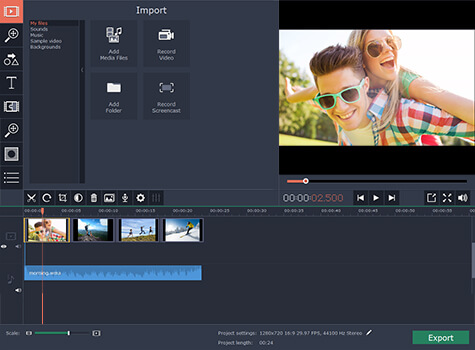 Compare Debut to Movavi SCS video editing module