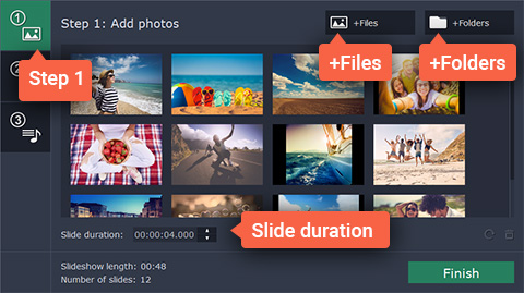Slideshow with Music | Photo-to-Video Maker with Music