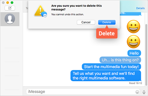 How to Delete iMessage   Remove iMessage from Your Mac