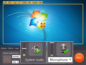 Step 2.2 - Use screen recorder on Windows 7
