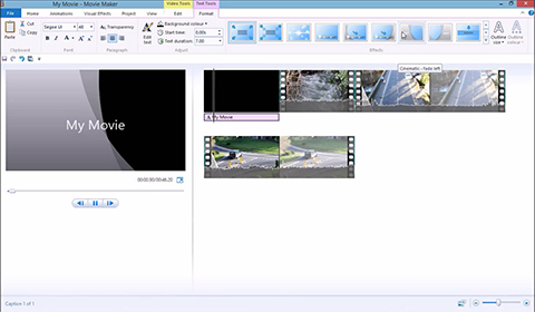 windows movie maker vs movavi video editor
