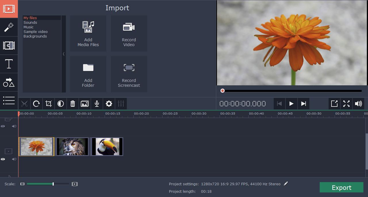 Windows Movie Maker 2012 Movavi Video Editor 12