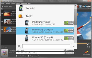 pre-reglages iphone