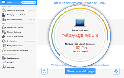 how to clean space on mac free