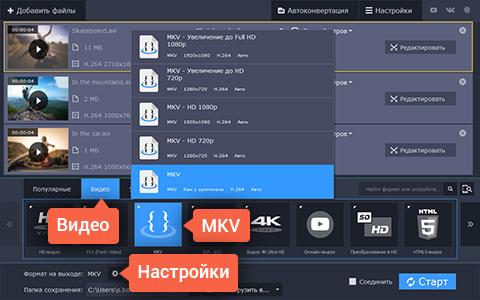 Редакторы Файлов Mkv