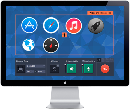 Use Movavi`s recording software for Mac