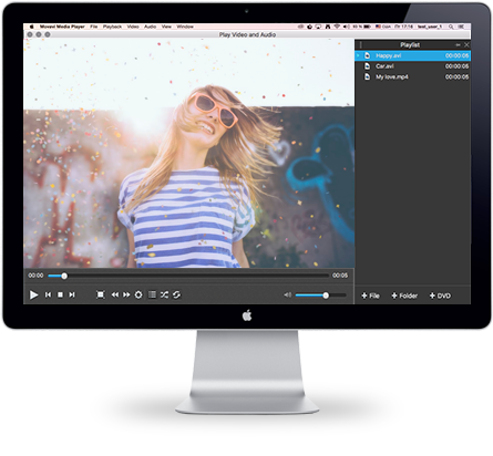 Video Player for Mac | Movavi Media Player for Mac