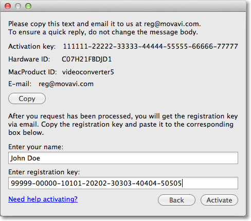 Movavi Video Editor For Mac keygen