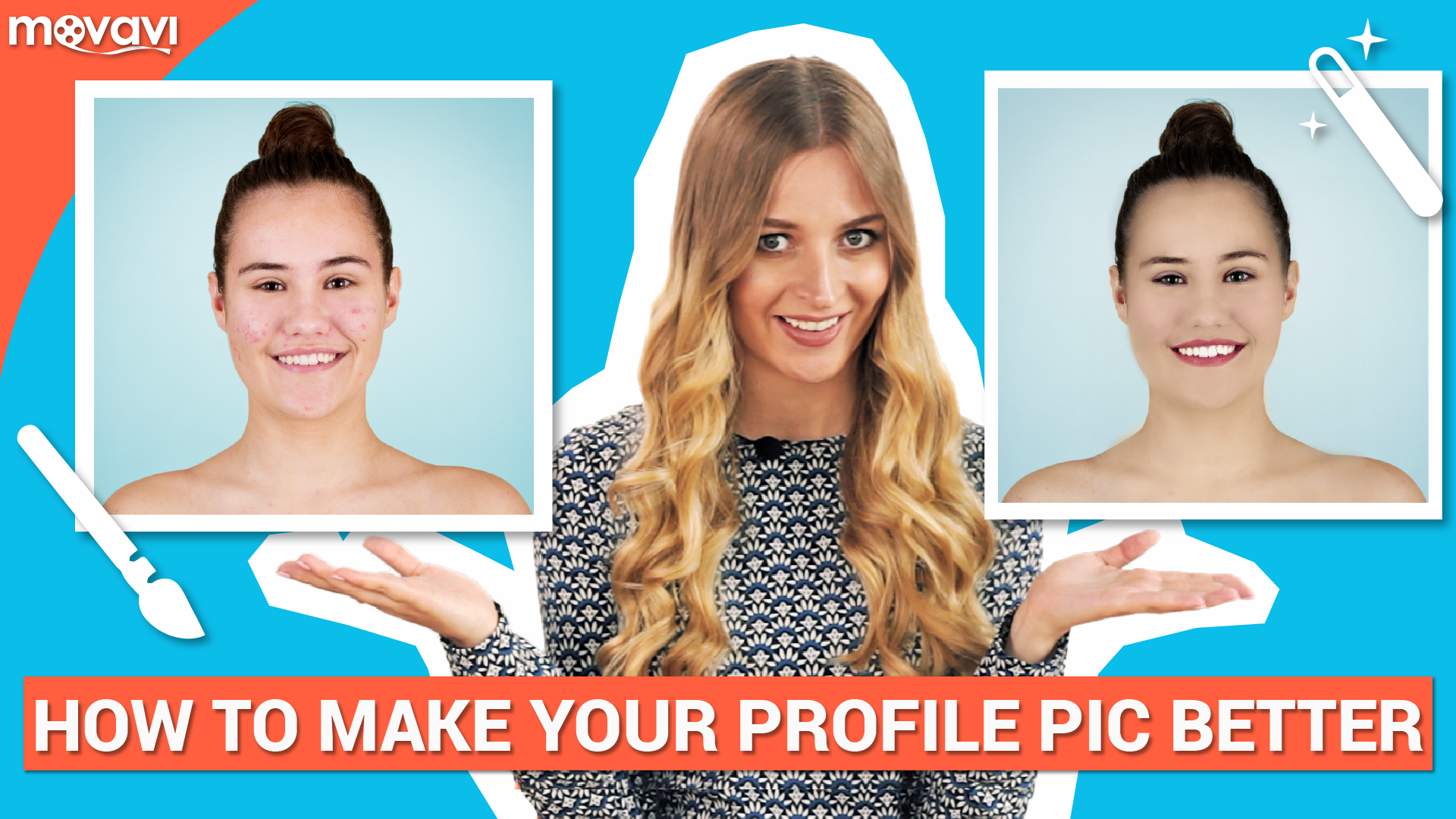 Photo retouching for beginners: making an avatar pic