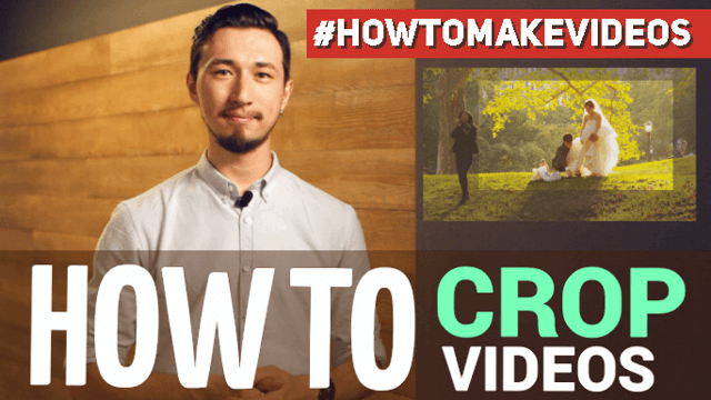 How to crop videos