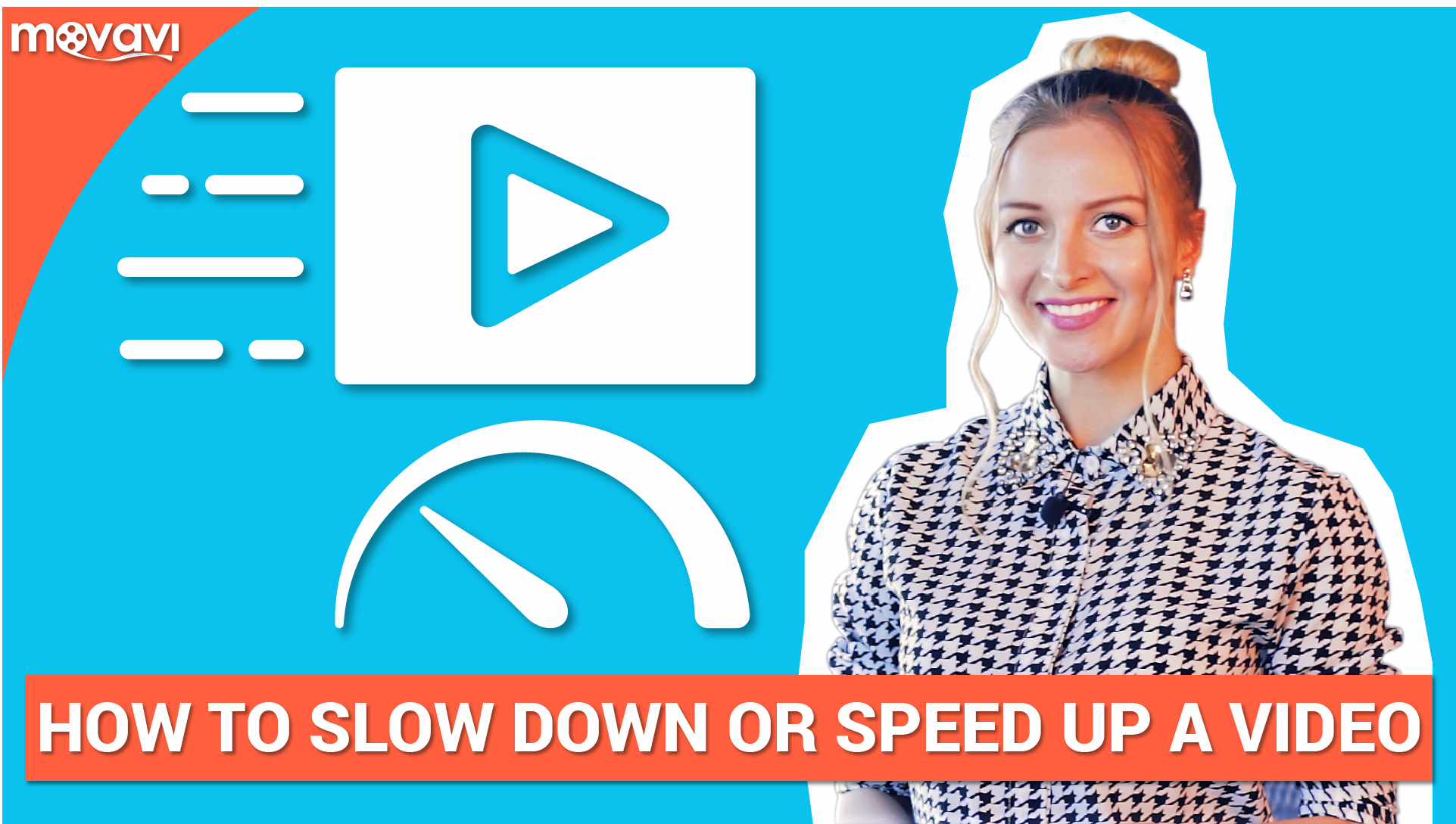 How to slow down or speed up a video