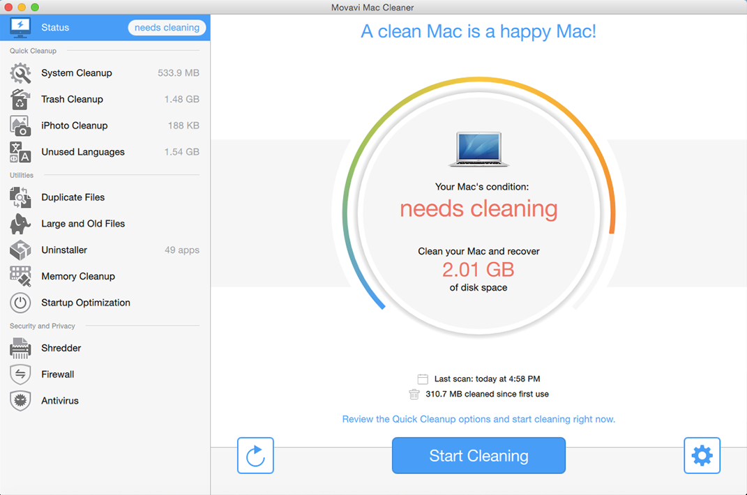Mac Cleaner | Download Mac Cleaning Software - Movavi