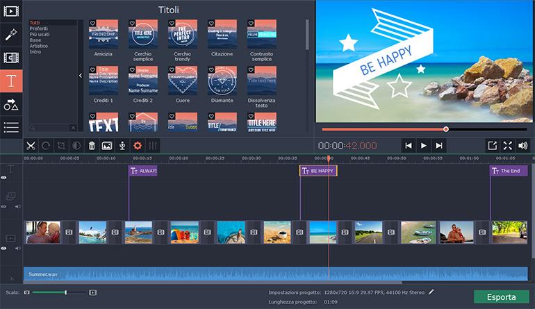 Programma per creare slideshow movavi slideshow maker for Programma per creare
