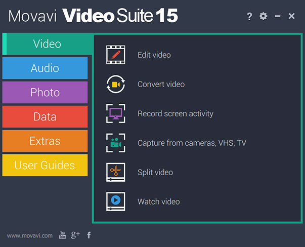 تحميل Movavi Video Suite 15.4