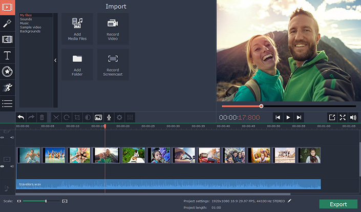 Movavi Video Editor Plus for Mac