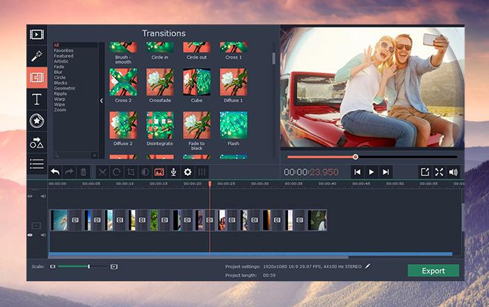 Movavi Video Editor Plus 14 Full Crack โปรแกรมตัดต่อ แก้ไขวิดีโอ