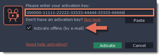 Activating without Internet access